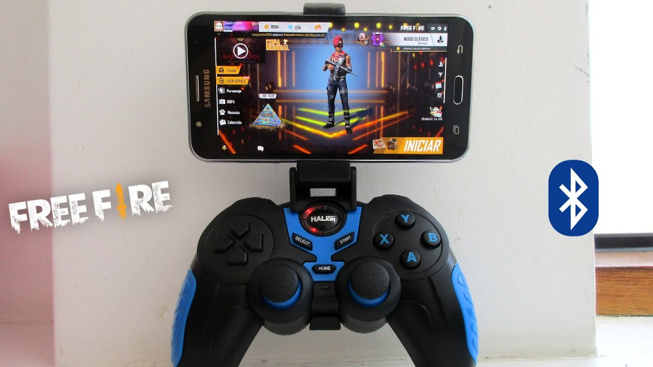 gamepad para jugar free fire