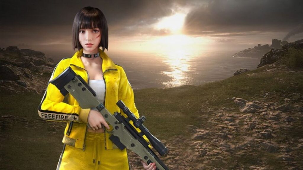 Kelly Free Fire png