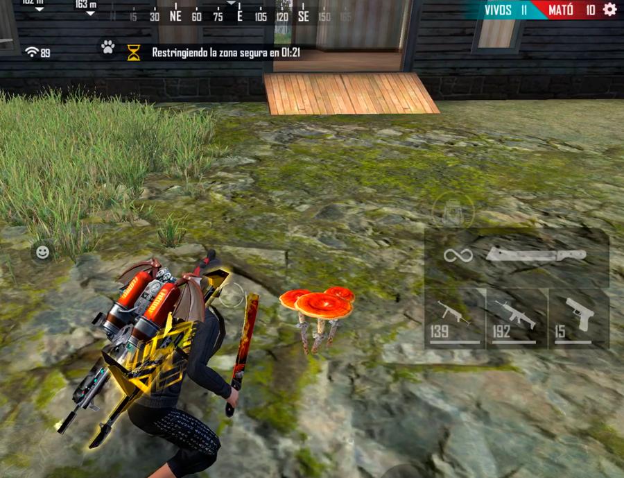 hongo nivel 3 de free fire