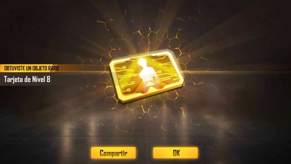 conseguir tarjetas de nivel de free fire