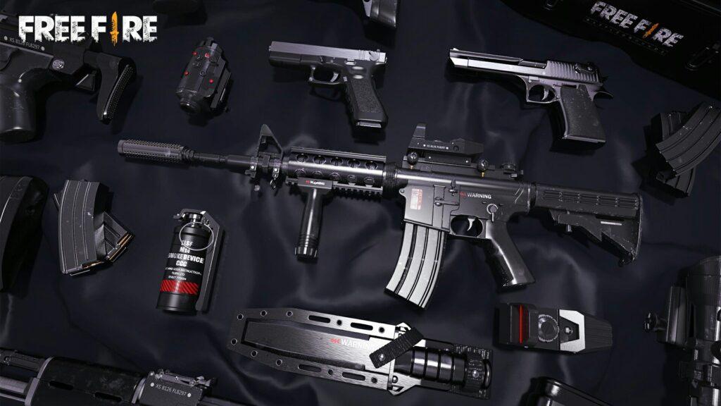 para qué sirven los accesorios de armas en Free Fire