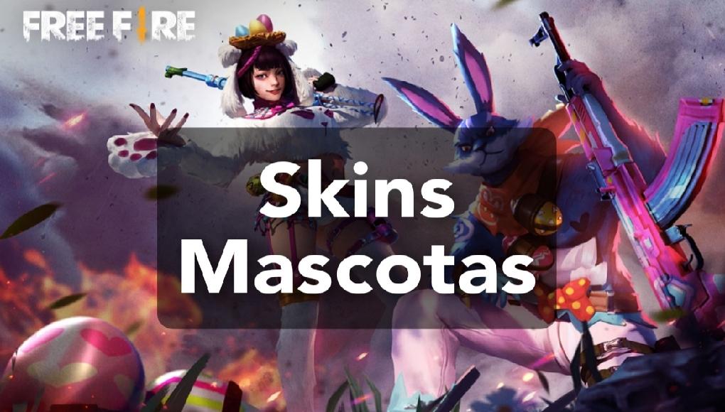 skins de mascota de free fire
