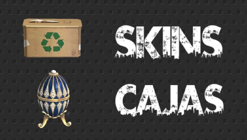 skins de cajas de free fire